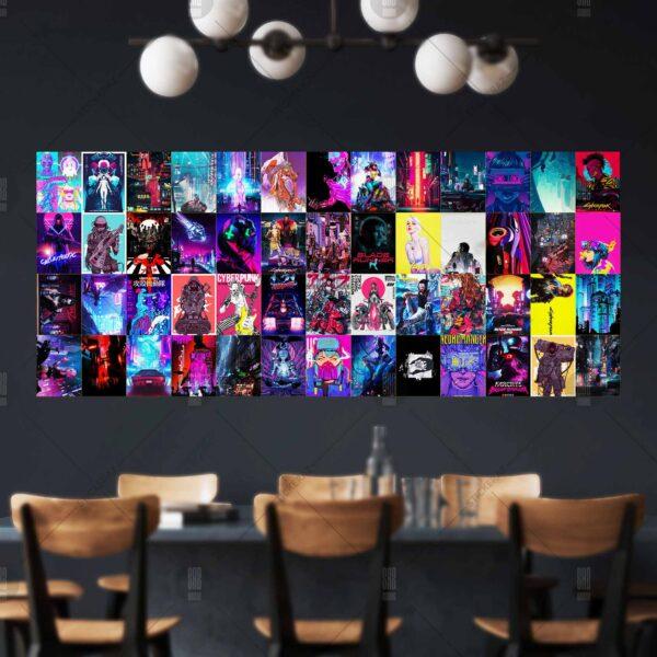 Sticker dán tường cyberpunk 2077